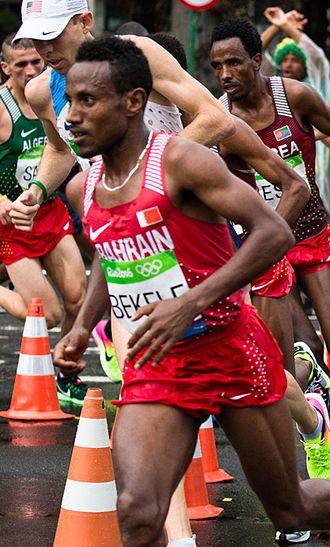 Alemu Bekele - Bekele at the 2016 Olympics