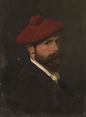 Bogdan Willewalde - Selfportrait, 1888