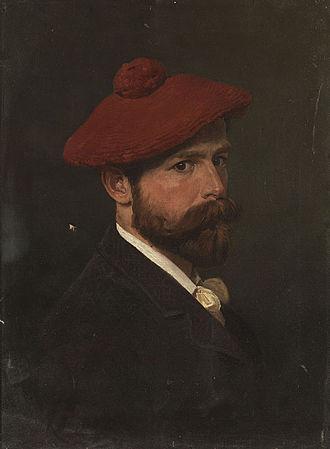 Bogdan Willewalde - Selfportrait, 1888