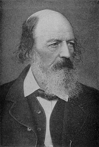 "Baron Tennyson - Alfred Tennyson, 1st Baron Tennyson, the poet, usually referred to (strictly incorrectly) as ""Alfred, Lord Tennyson"""