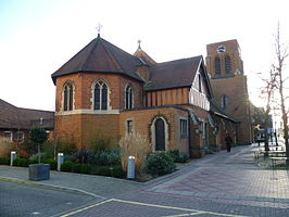 All Saints church, Borehamwood 01.JPG