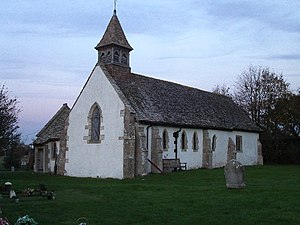 Goosey - Image: All Saints church, Goosey geograph.org.uk 82299