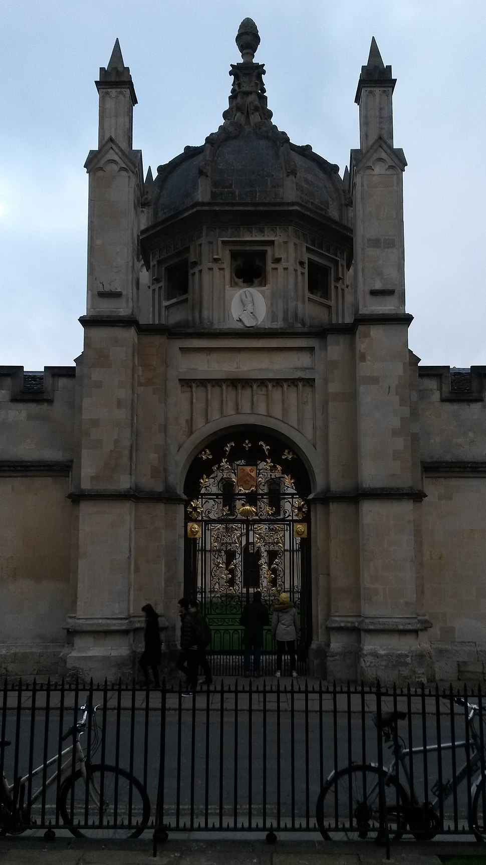 All Souls College Radcliffe Square gate