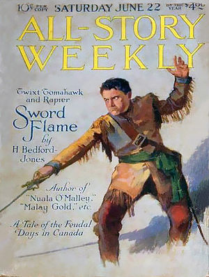 All-Story Weekly, 22 giugno 1918.