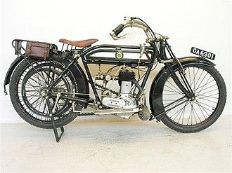 Henry Herbert Collier - 1914 Matchless 557 cc