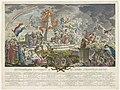 Allegorie op het ware patriotisme, 1788 Zinnebeeldige Kunstprent op de Waare Vaderland-Liefde (titel op object), RP-P-OB-86.136.jpg