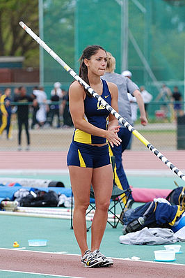 Allison Stokke in 2008