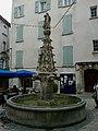 Alpes-Haute-Provence Forcalquier Place Saint-Michel Fontaine 12072014 - panoramio.jpg