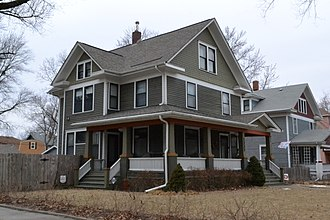 National Register of Historic Places listings in Shawnee County, Kansas - Image: Alt House, Topeka, KS