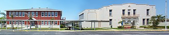 National Register of Historic Places listings in Lee County, Florida - Image: Alva FL Consol School pano 01