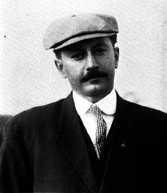 Alvin Kraenzlein - Alvin Kraenzlein, Ann Arbor, 1911