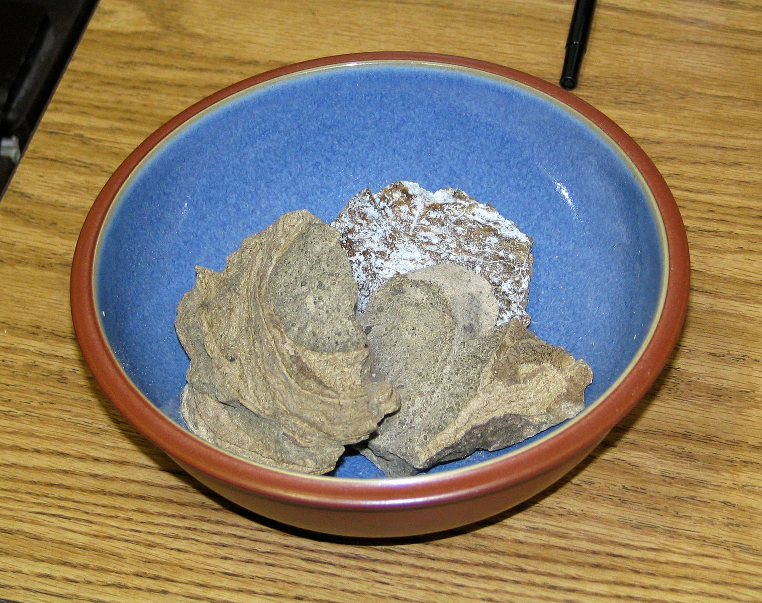 An example of whale vomit, or ambergris, which is often used to make perfume and is highly valuable. (Wikipedia)
