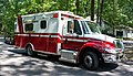 Ambulance answering call 02 - Cleveland Heights Fire Department - 28524019944.jpg