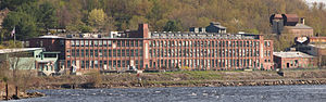 National Register of Historic Places listings in New London County, Connecticut - Image: American Thermos Bottle Company Laurel Hill Plant New London County CT
