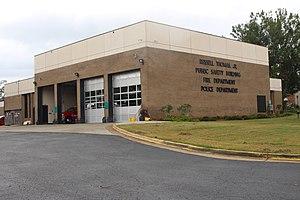 Americus, Georgia - Image: Americus Public Safety Building