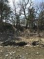 An uneven hillside at Rock Creek Crossing in Council Grove, KS (c2e825e268b5408eb5b4fa9a60de1a64).JPG