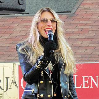 Ana Stanić Serbian singer