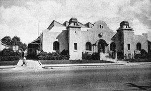 National Register of Historic Places listings in Orange County, California - Image: Anaheim Packing House circa 1936