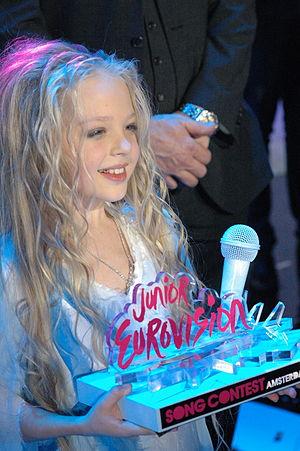Ukraine in the Junior Eurovision Song Contest - Image: Anastasiya Petryk (Ukraine, winner of JESC 2012)