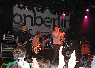 Anberlin - Performing at the Commodore Ballroom in May 2009