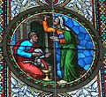 Andelsbuch Pfarrkirche - Chorfenster 3a Opfer.jpg