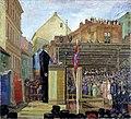 Anders Svarstad - Grunnstensnedleggelsen til Rådhuset - 1931 - Oslo Museum - OB.08015.jpg