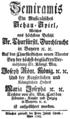 Andrea Bernasconi - Semiramide - german titlepage of the libretto - Munich 1765.png