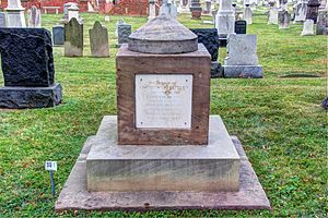 Andrew Butler - Butler's cenotaph at the Congressional Cemetery
