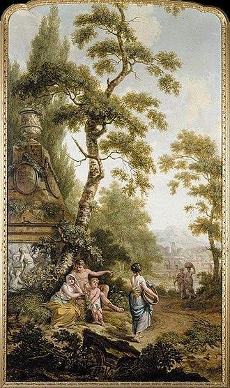 Jurriaan Andriessen (artist) - Image: Andriessen, Jurriaen Arcadian Landscape 1780s