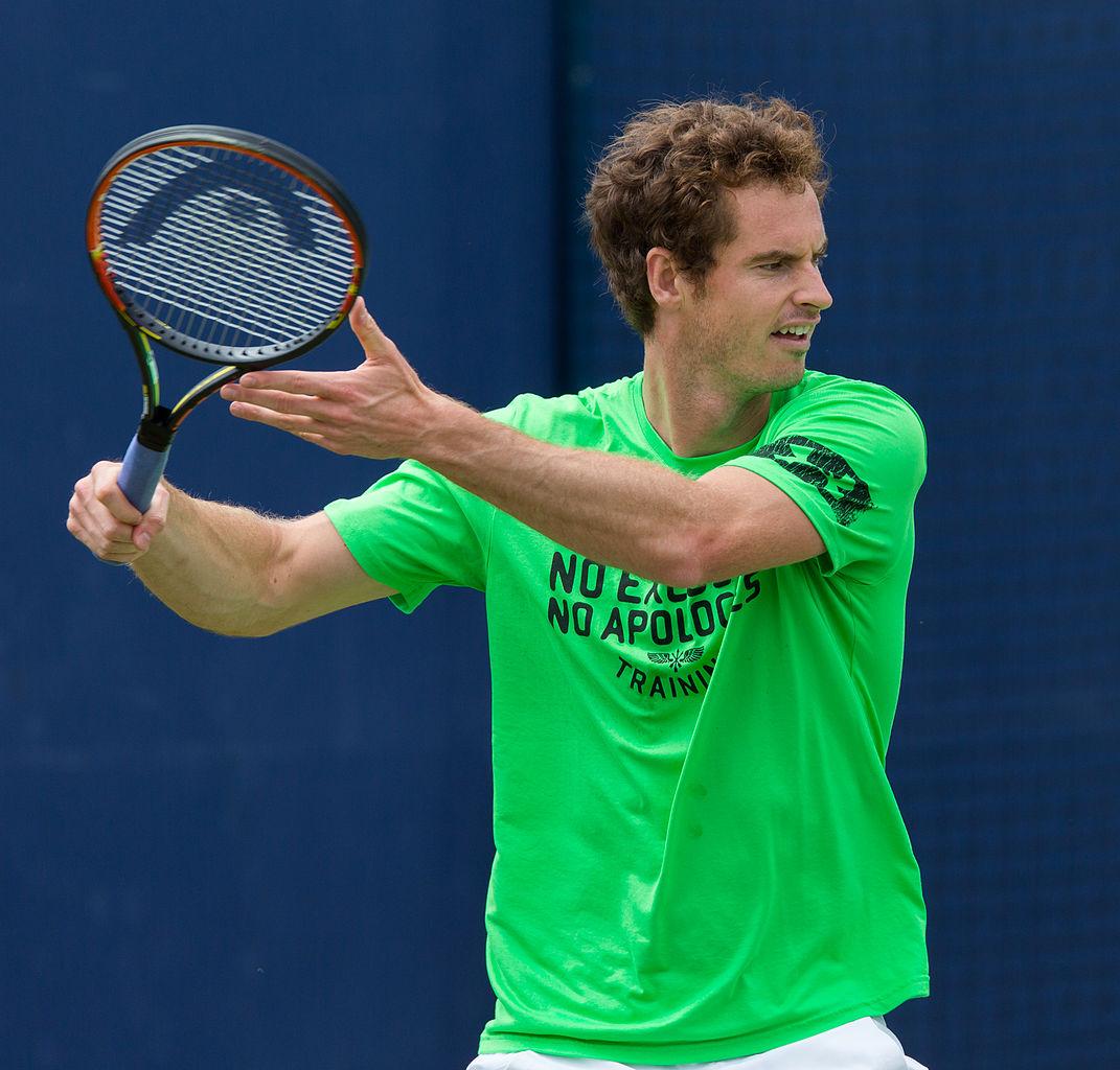 Andy Murray: File:Andy Murray, Aegon Championships, London, UK