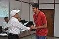 Anil Shrikrishna Manekar Presents Certificate to Participant - Orientation cum Selection Camp for XXI International Astronomy Olympiad - NCSM - Kolkata 2016-05-17 3811.JPG
