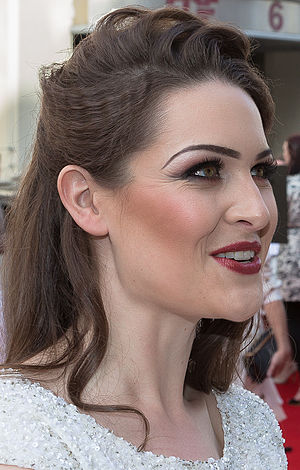 Grace Black - Image: Anna Passey at the 2015 British Academy Television Awards