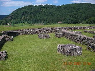 Columbanus - Monastery ruins at Annegray