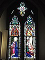 Annunciation window, West Grinstead RC church.jpg