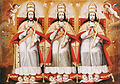 Anonymous Cusco School - The Enthroned Trinity as Three Identical Figures - Google Art Project.jpg