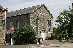Mitchell, Cornwall - Image: Another Ex Methodist Church geograph.org.uk 185697