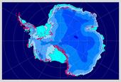 L'Antarctique en période inter-glaciaire (été austral)