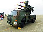 Antelope Air Defense System Display at CCK Air Force Base Apron 20111112.jpg