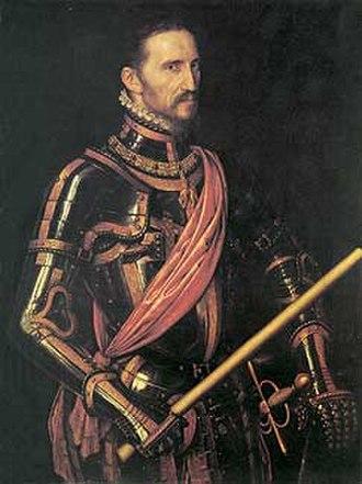 Fernando Álvarez de Toledo, 3rd Duke of Alba - The Duke of Alba in 1549 by Anthonis Mor