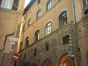 Arte di Calimala - The late-14th century Palazzo dell'Arte di Calimala, seat of the guild