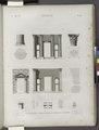 Antinoë (Antinoöpolis). Plan, élévation, coupes et détails du portique du Théatre (NYPL b14212718-1268151).tiff