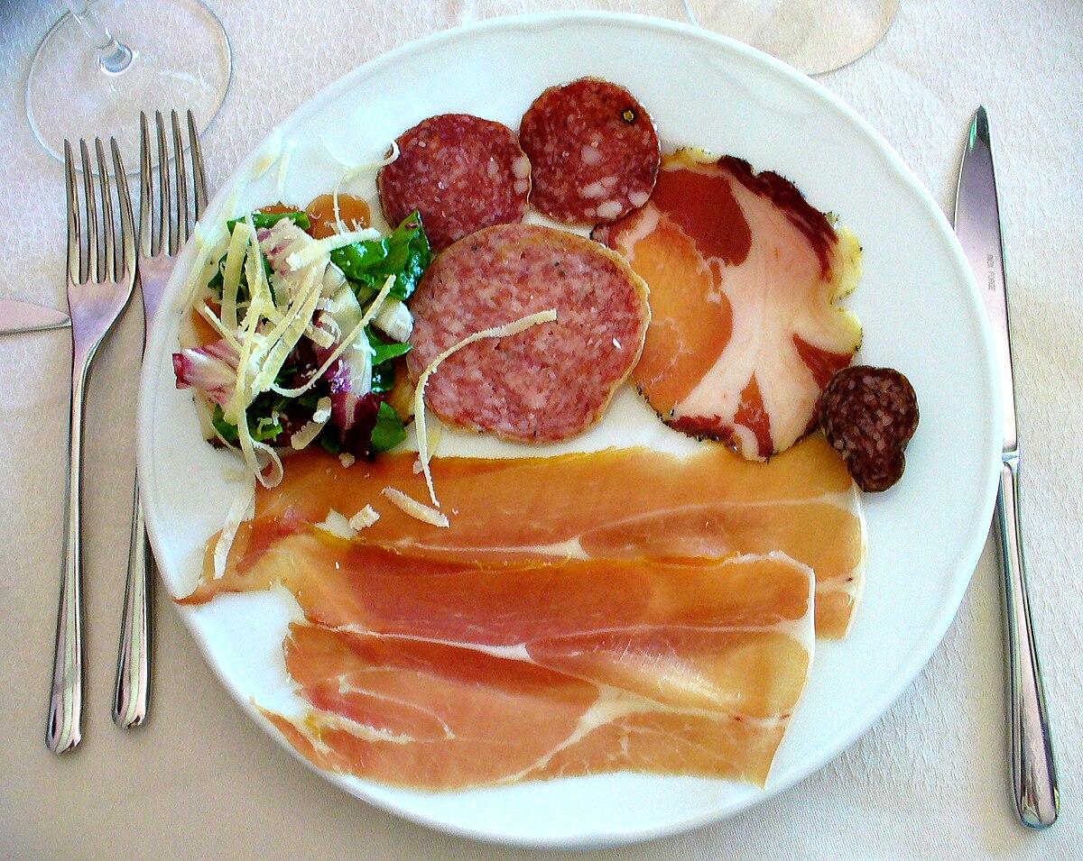 Antipasto wikipedia - Antipasti cucina romana ...