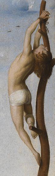 Crucifixion, Antwerp, detail.