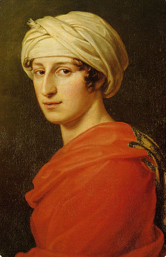 Immortal Beloved - Antonie Brentano, portrait by Joseph Karl Stieler, 1808