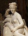 Antonio canova, Paolina Borghese come Venere vincitrice, 1804-08, 05.jpg