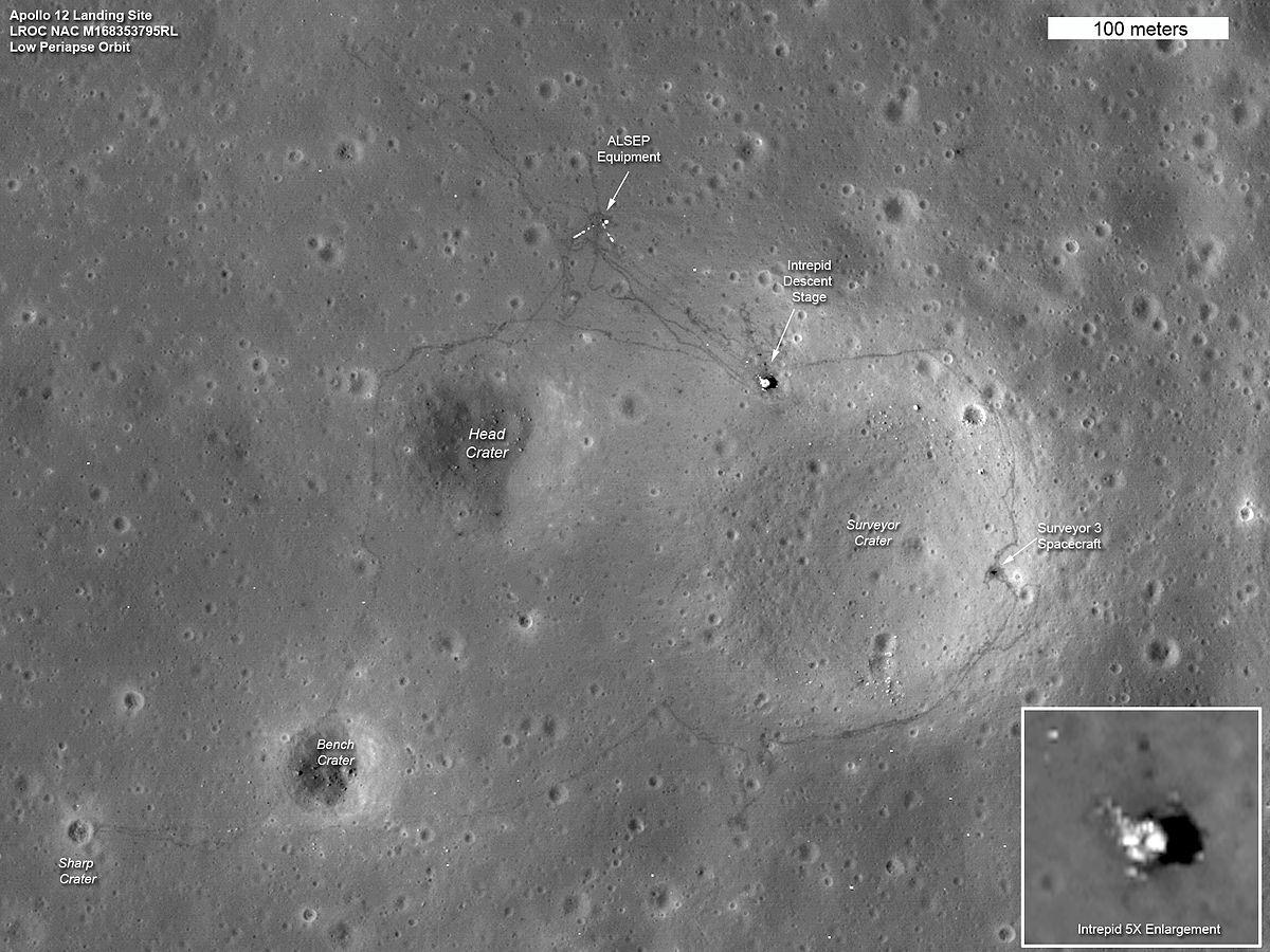 apollo 14 landing site - HD1200×900