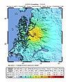 April 21 2007 Aisen earthquake intensity.jpg