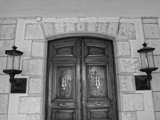 Aranda de Duero, Hand Carved Wooden Door, pic bb41 Photography by David Adam Kess.jpg