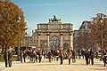 Arc de Triomphe du Carrousel from Tuileries, Paris October 2011.jpg