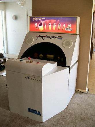 Time Traveler (video game) - Image: Arcade complete view
